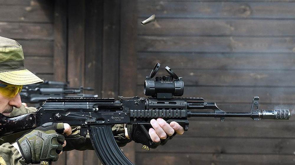 Пример боевого оружия